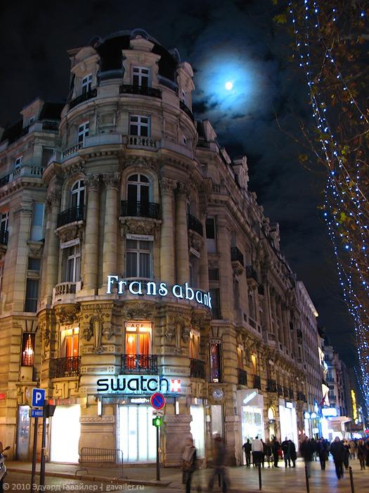 Ночью париж ещё более загадочен и