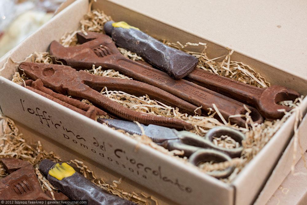 Как сделать шоколадный сувенир