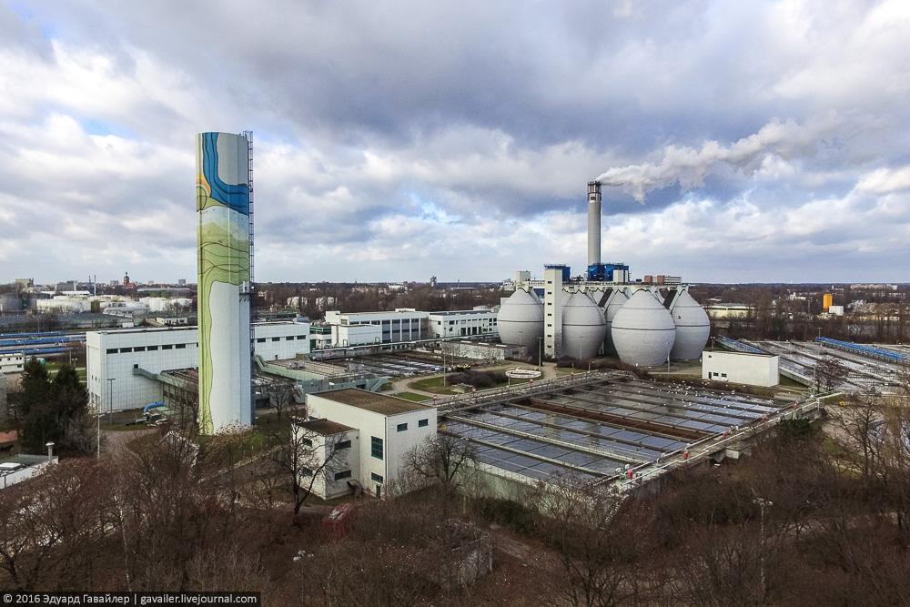 Очистка сточных вод в Германии