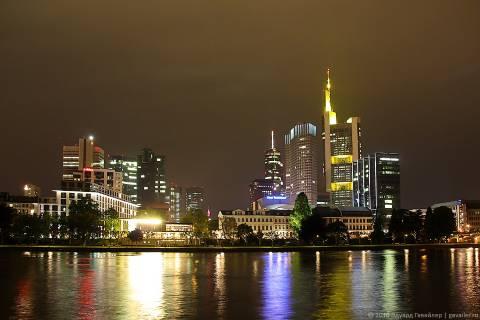 Франкфурте-на-Майне — немецкий Манхэттен