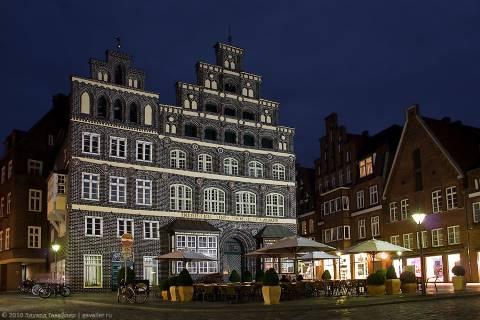 Ночной Люнебург
