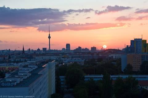 Вид из моего окна на Берлин