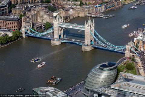 Осколок — самое высокое здание в Британии