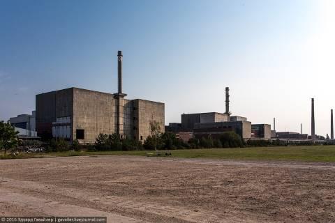 Внутри советской атомной станции