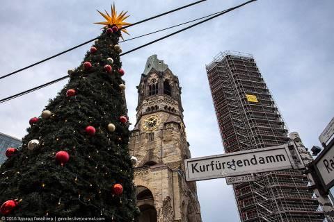 Рождественский рынок после трагедии