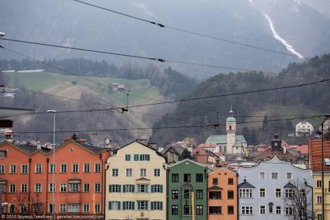 Австрийский Тироль и Инсбрук