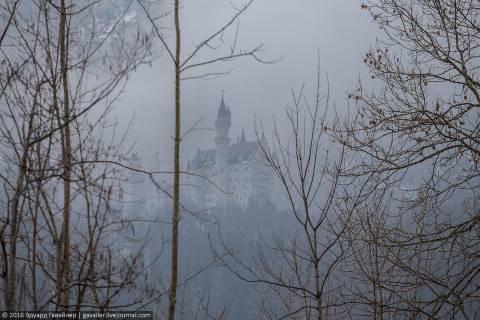 Замок Нойшванштайн: неудачные фотографии