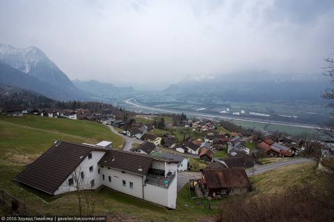 Карликовое княжество Лихтенштейн