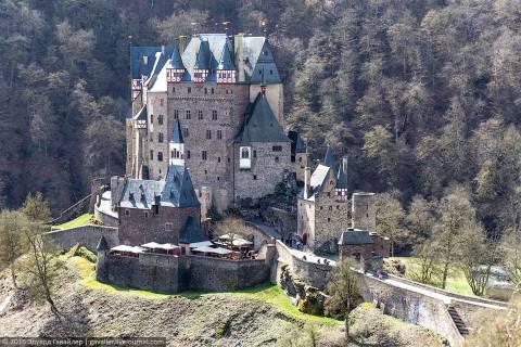 Бург Эльц — замок из сказки
