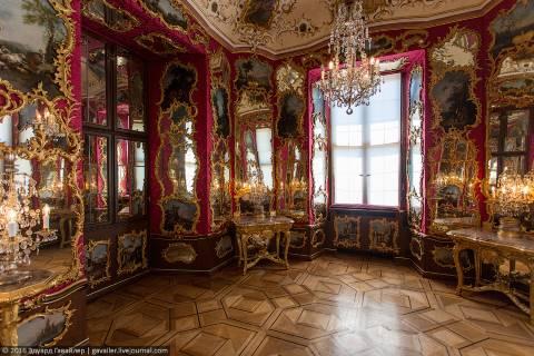 Замок Фульда и зеркальная комната