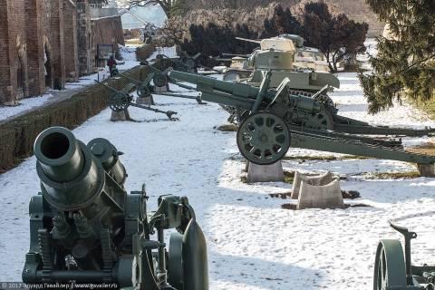 Потрепанный зимний Белград