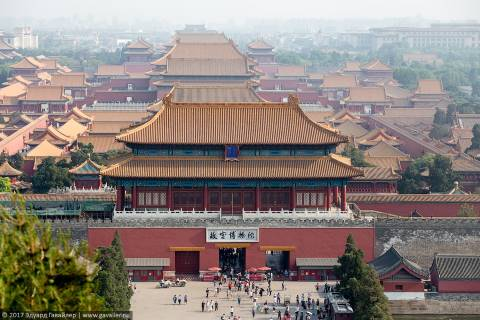 Пекин императорский и простолюдинный