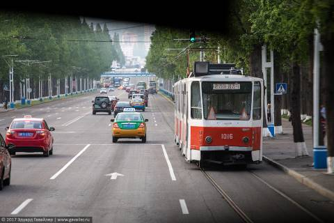 Улицы Пхеньяна