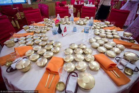 Еда в ресторанах Северной Кореи