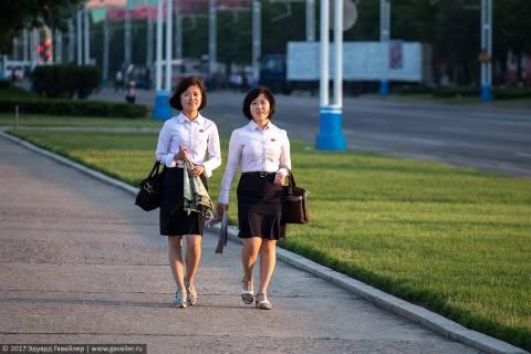 Северокорейские женщины