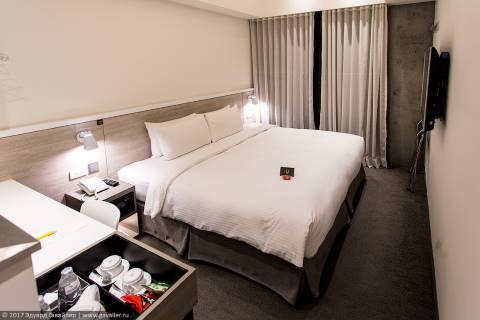 Где я жил в Тайбэе. CityInn Hotel Plus 3*