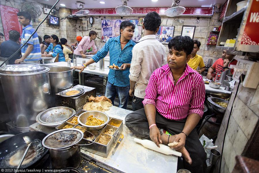 Уличные рынки в Индии