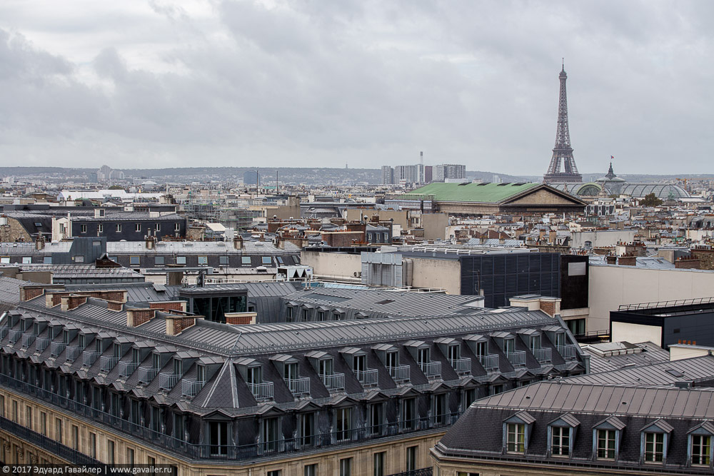 Про Париж с борта самолета париж