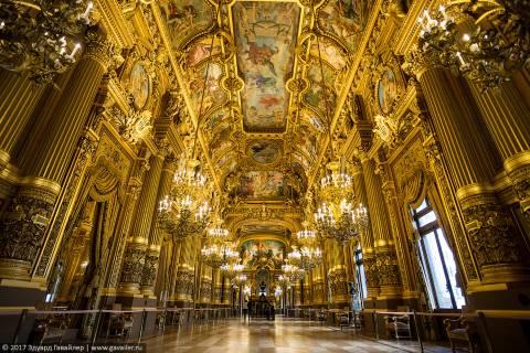 Парижская опера Шарля Гарнье — cамый красивый оперный театр