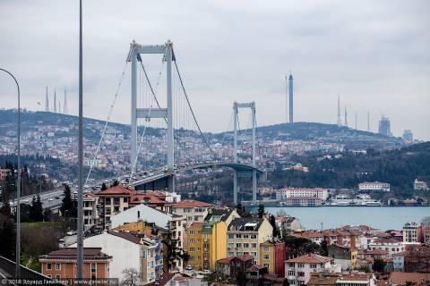 Стамбул на автобусе и пешком