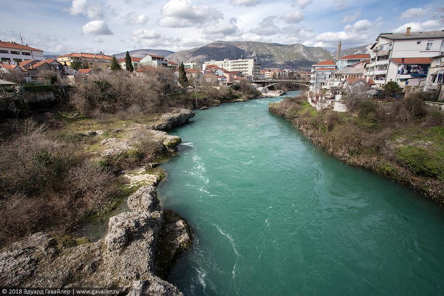 Из Сараево в Мостар на машине