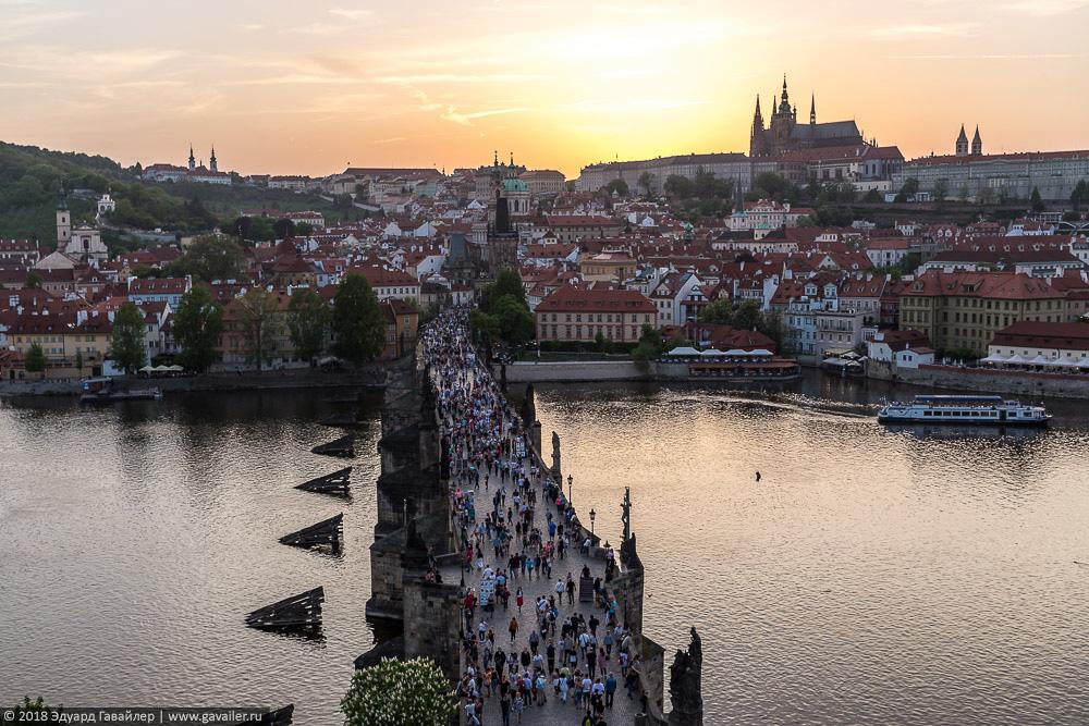 Прага и Карловы Вары летом прага