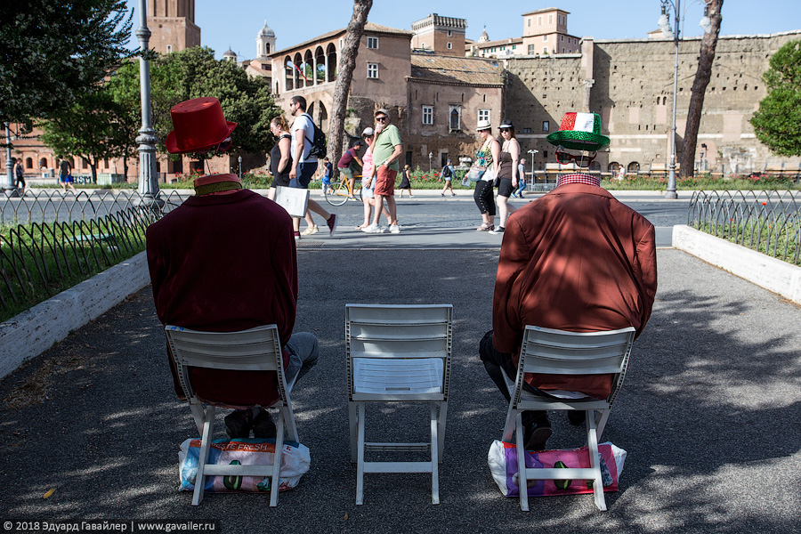 Рим — паста, замок, колезей и BigBus