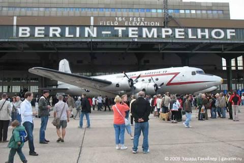 День открытых дверей в аэропорту Темпельхоф