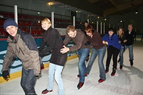 Катание на коньках в Гамбурге