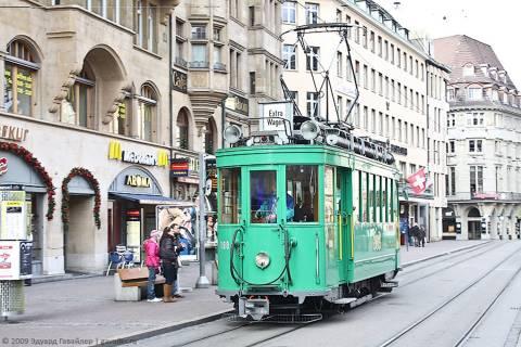 Общественный транспорт и дороги в Базеле