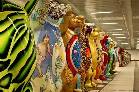 Выставка медведей United Buddy Bears