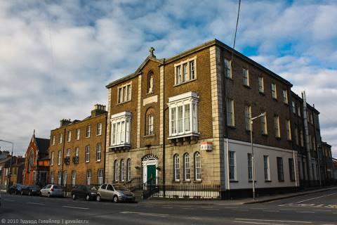 Прилет в Дублин и прогулка по городу