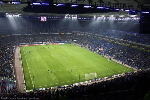 Футбольный матч «Гамбург — Стандард, Бельгия»