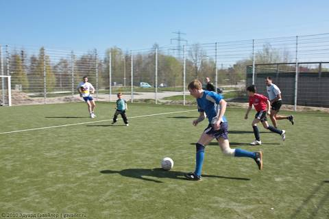 Дружеский матч по мини-футболу