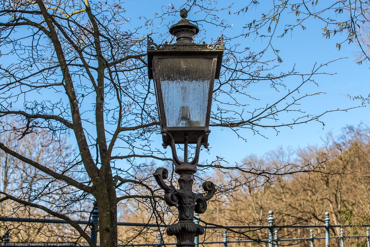 Немецкий уличный фонарь