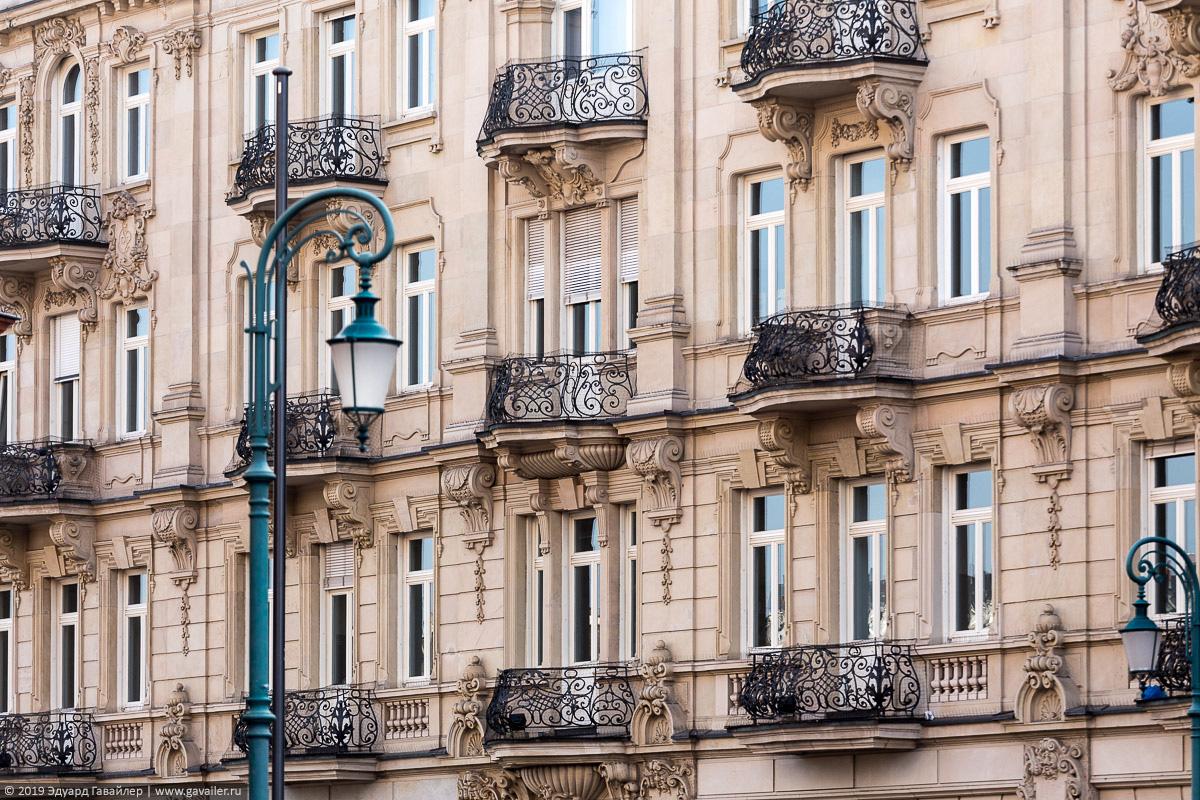 Балконы в Висбадене