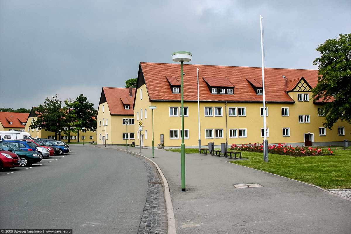 Гарнизон СС в концлагере Бухенвальд