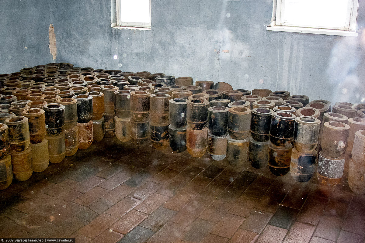 Урны для праха в Бухенвальде