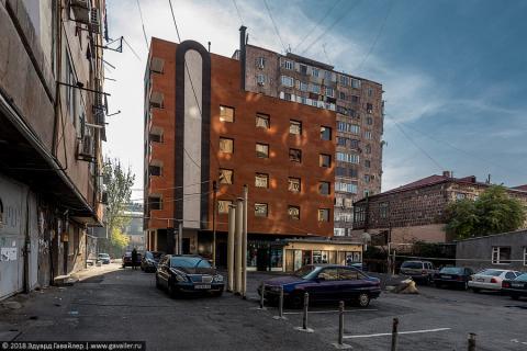 Где я жил в Ереване. Nova Hotel 4*