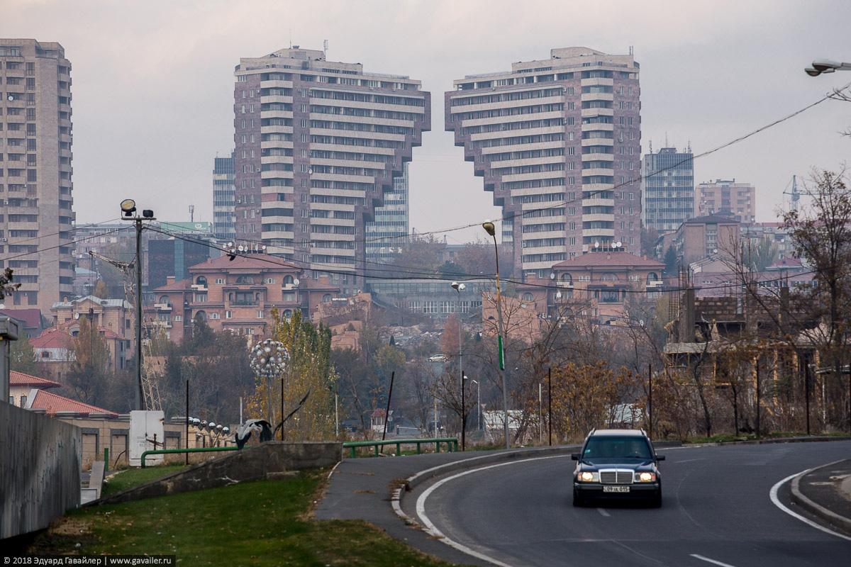 Советская архитектура в Армении