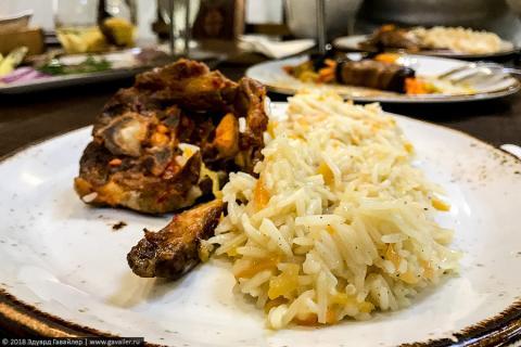 Ужин в Ереване — ресторан «Таверна Ереван»