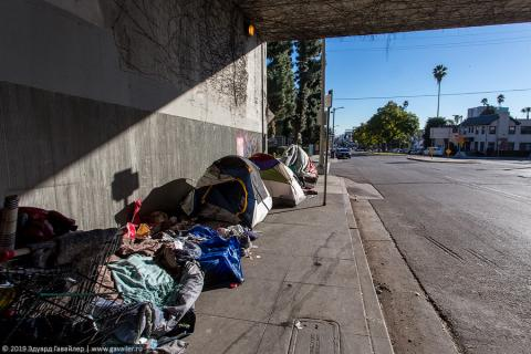 Лос-Анджелес — самый бездомный город США