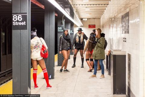 Ньюйоркцы без штанов